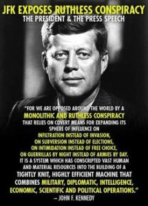 JFK on Conspiracies